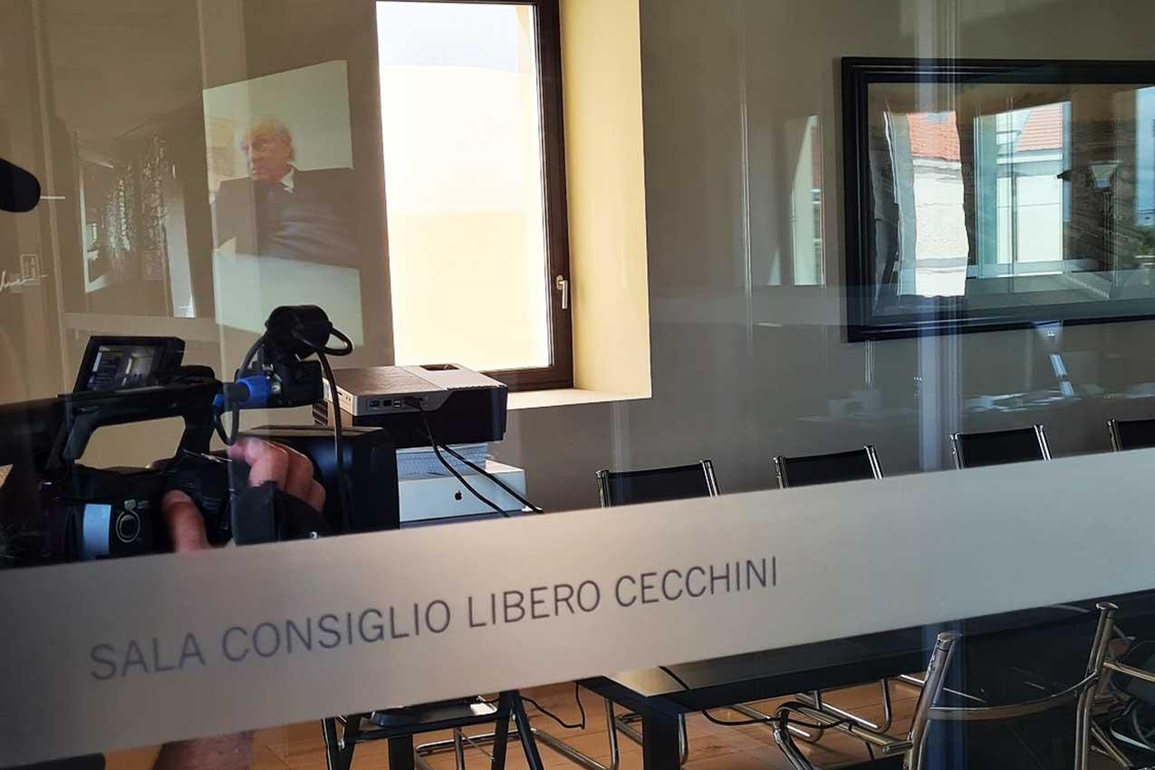 L'inaugurazione della Sala Consiliare Libero Cecchini agli ex Magazzini Generali (Verona)