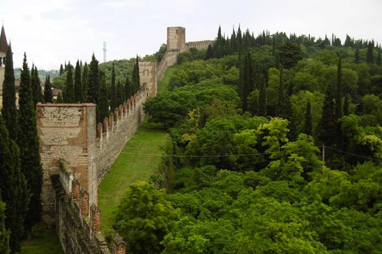 Le mura scaligere, Verona