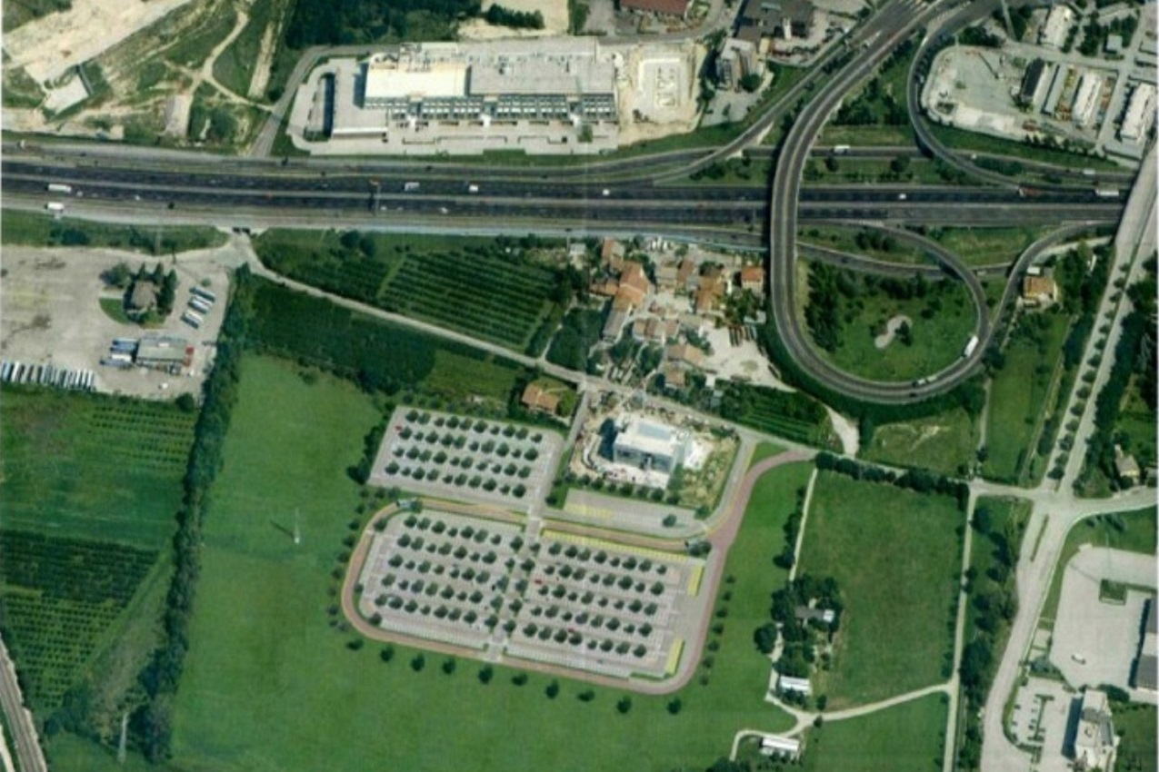 Il parcheggio della Genovesa, Verona